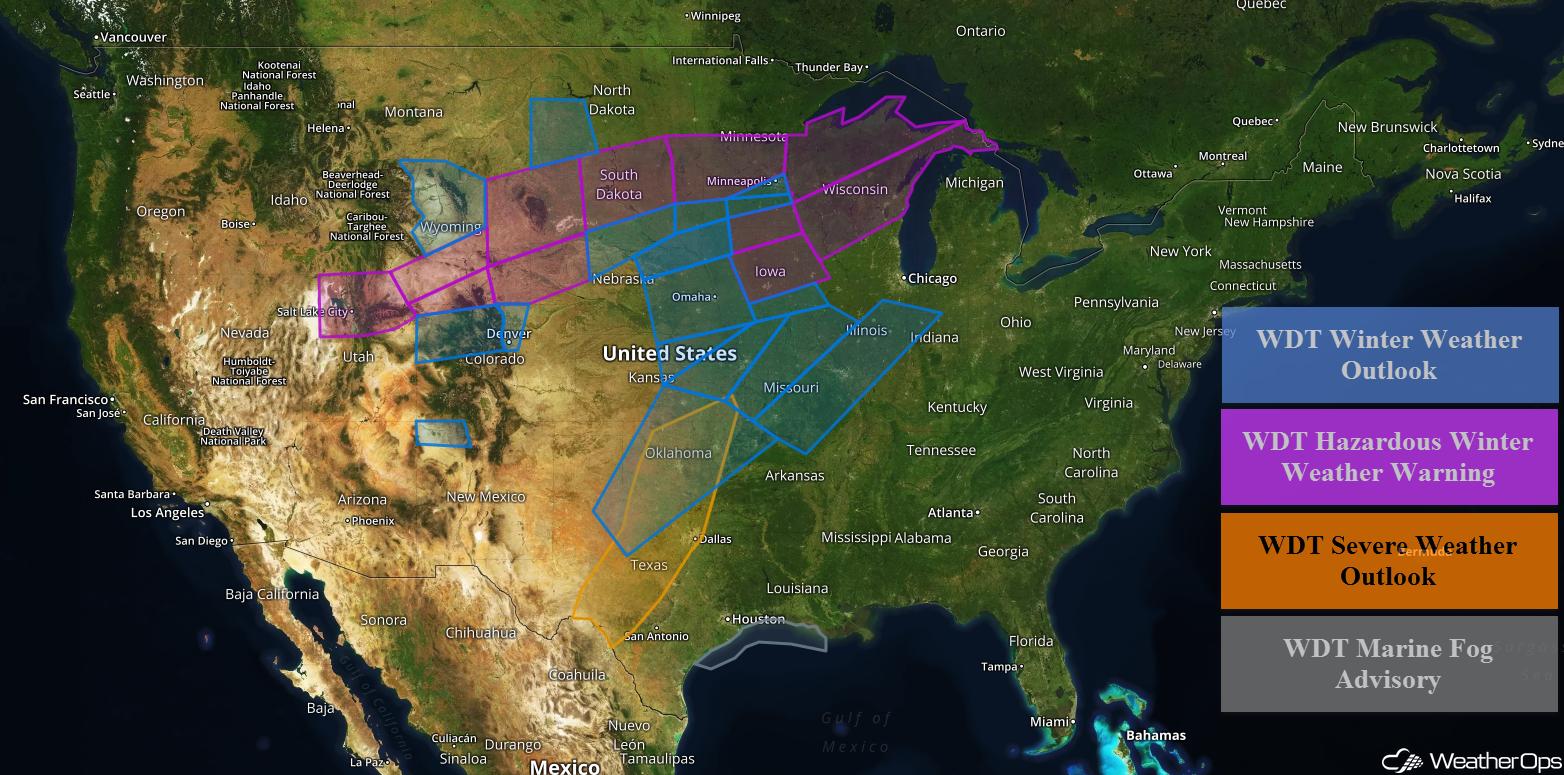 WeatherOps US Hazards