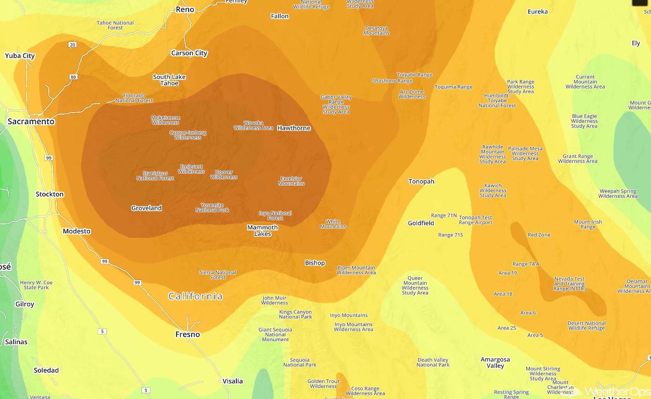 Relative Humidity Values