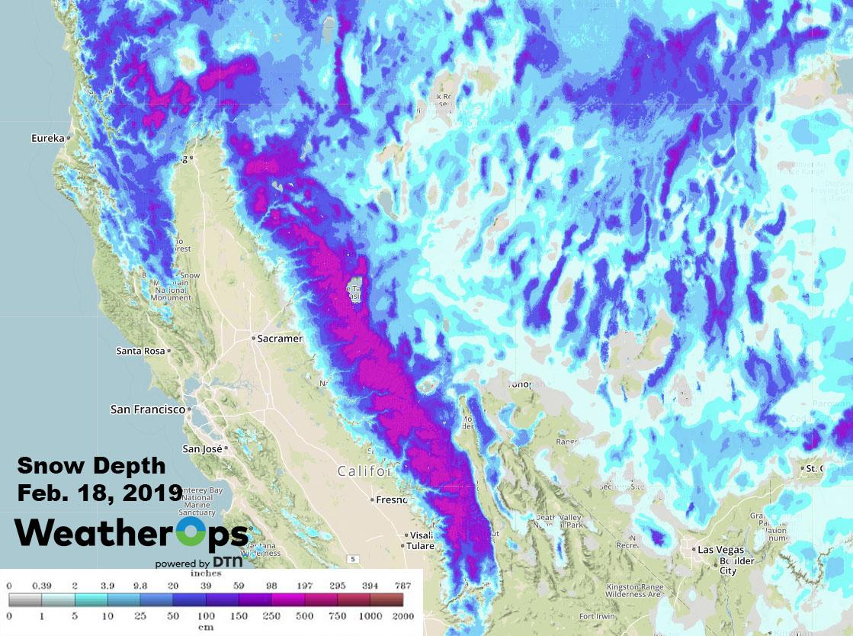2019- An Enormous Year for California Ski Resorts