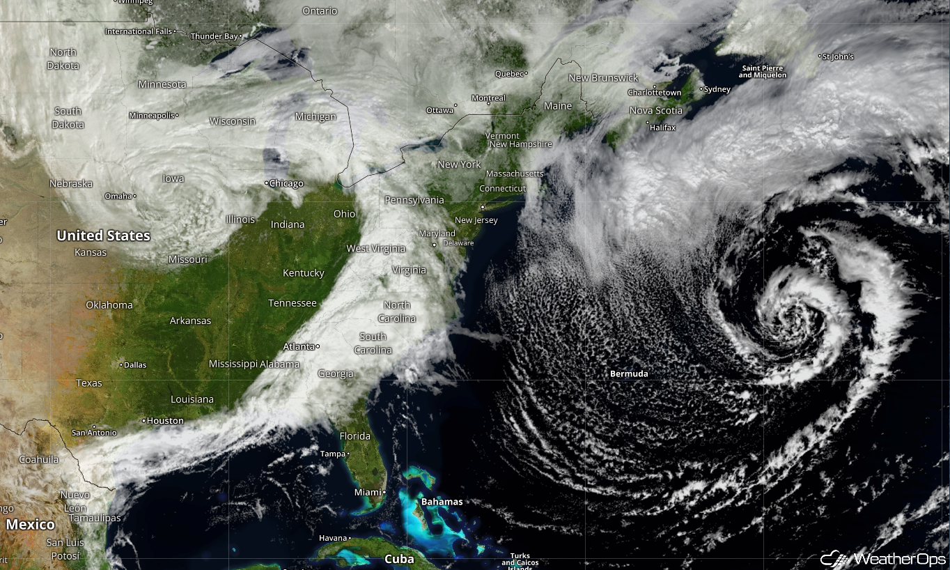 Another Nor'easter is in the Forecast for New England