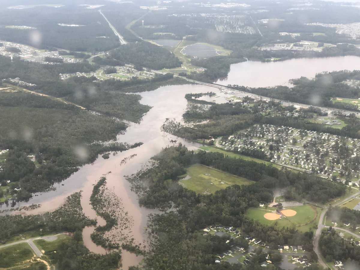 North Carolina Floodwaters Continue to Rise