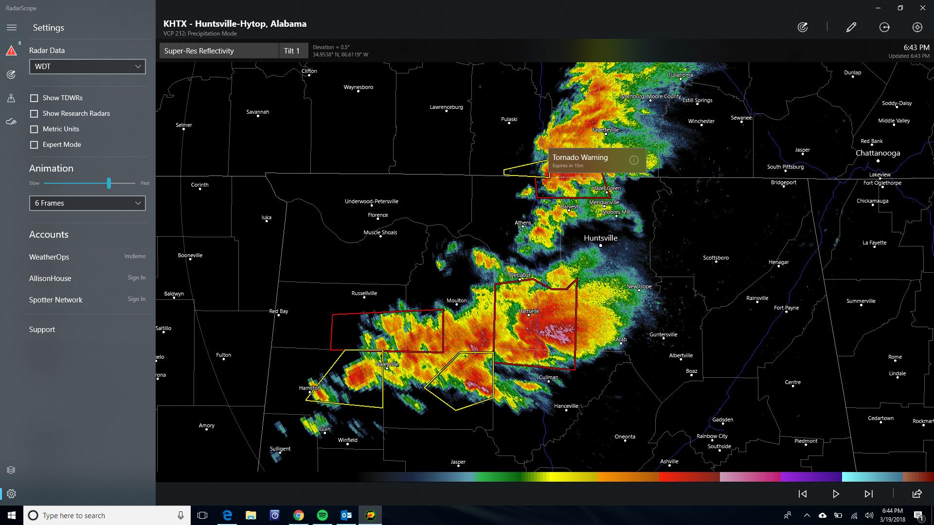Celebrating 10-Years of RadarScope with an All-new Version for Windows 10 Users