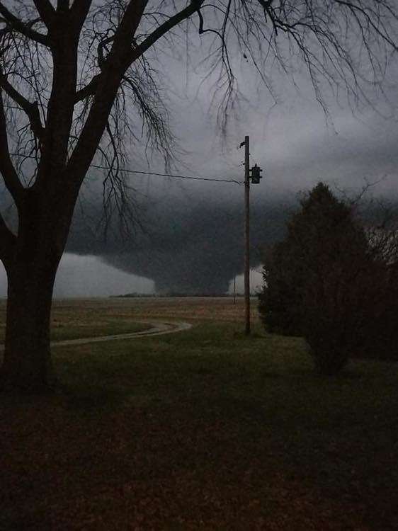 Three Days of Tornadoes in December