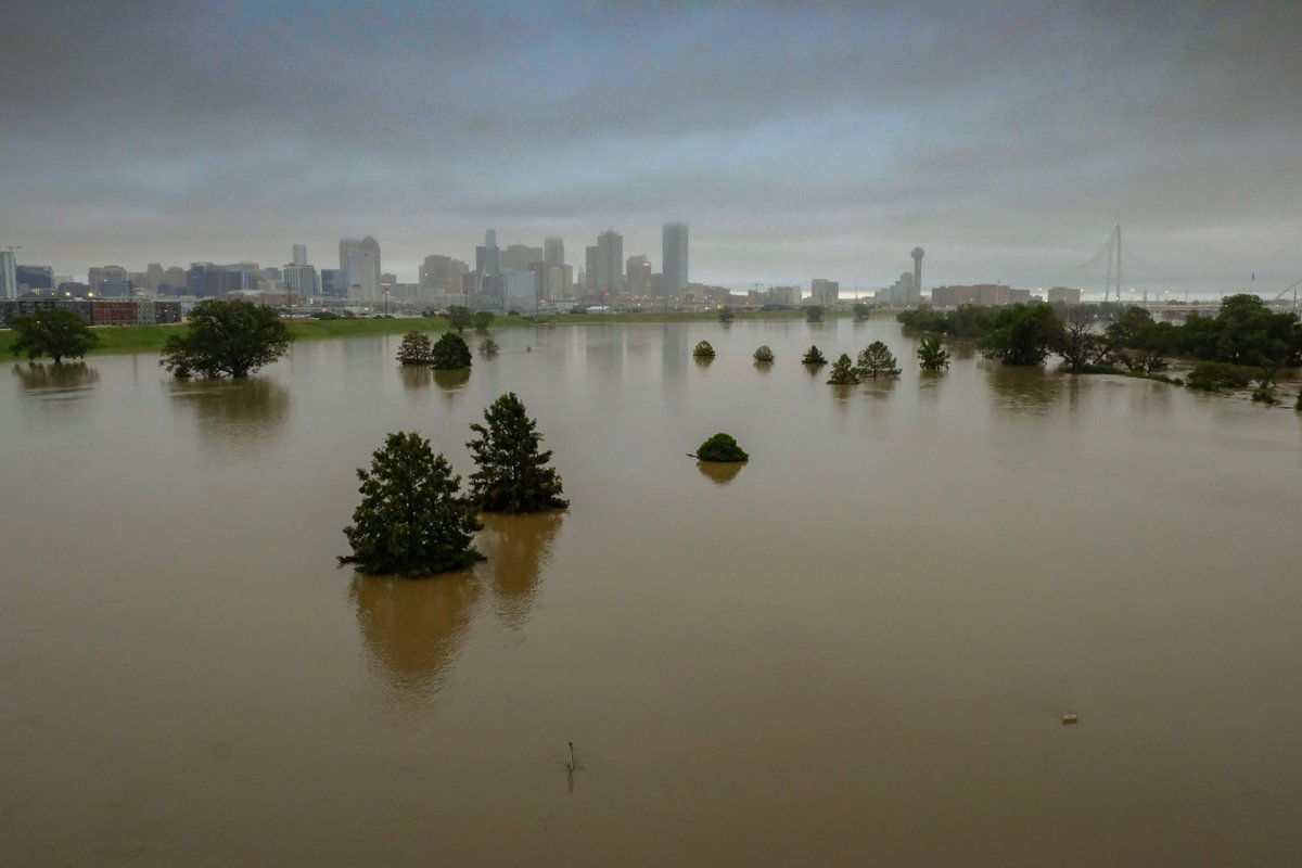 Flooding in Oklahoma and Texas Causes Extensive Damage
