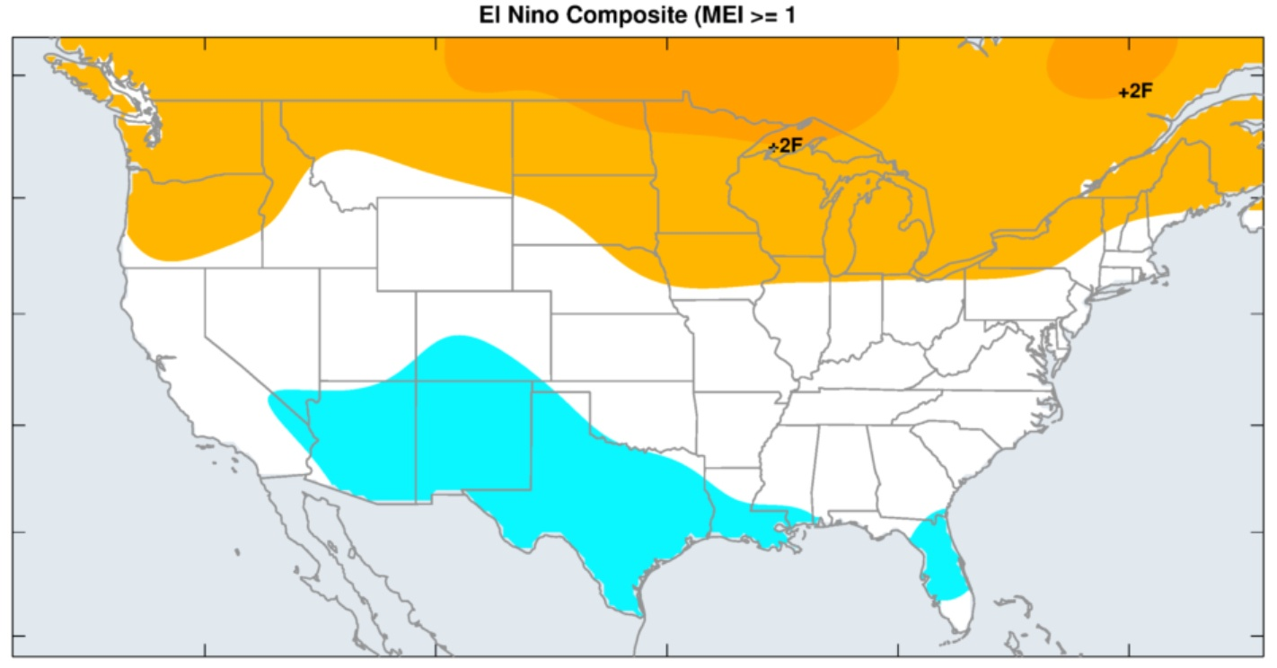 "A ""classic"" El Nino winter? Not so fast my friends!"