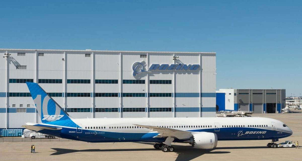 WeatherOps to Assist with Boeing 787 First Flight
