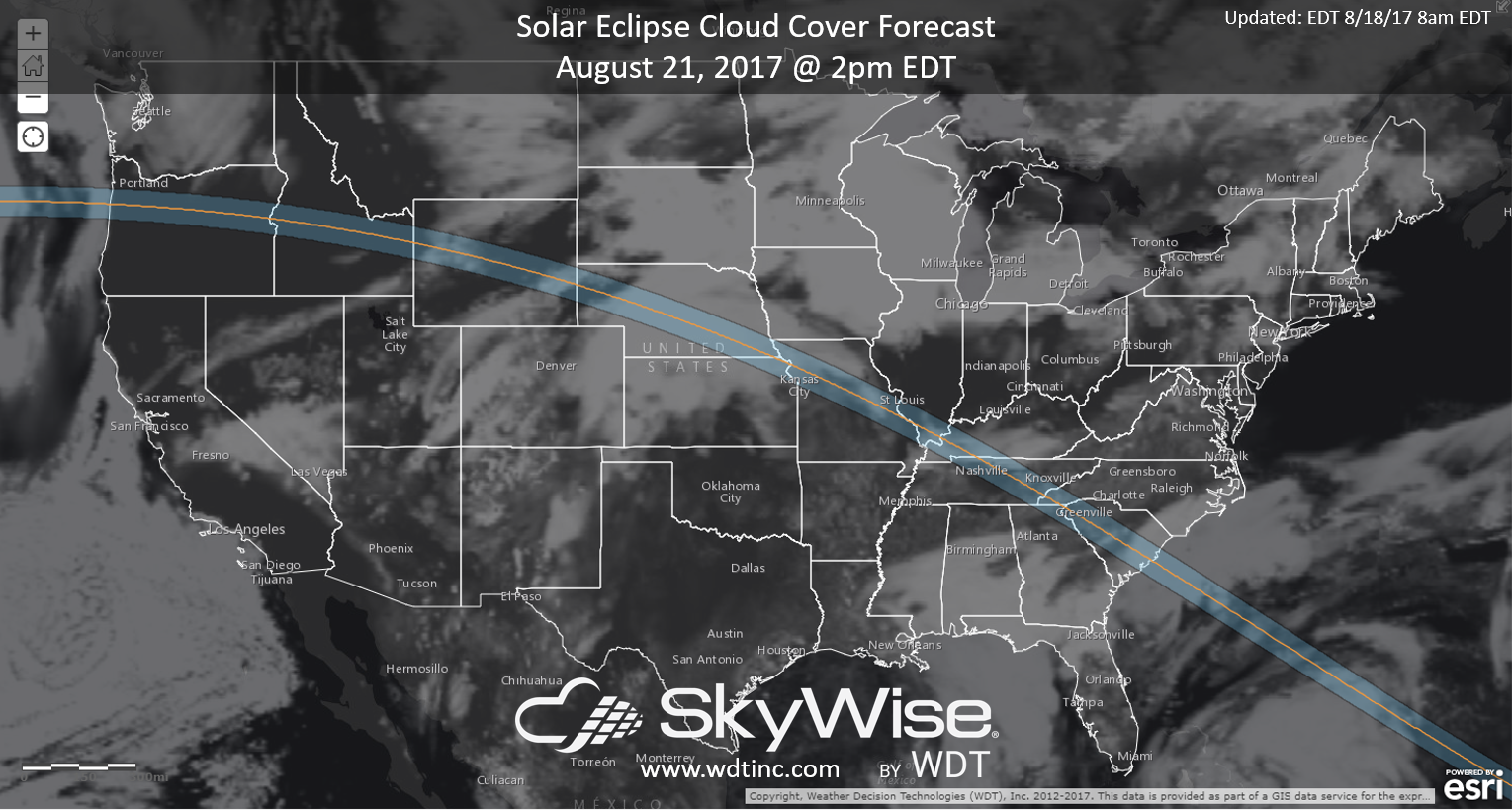 Your Latest Eclipse Forecast Can Be Found Here