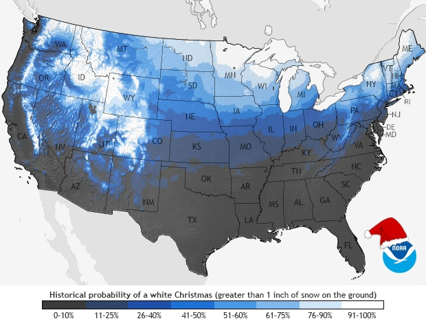 Will You See a White Christmas This Year?