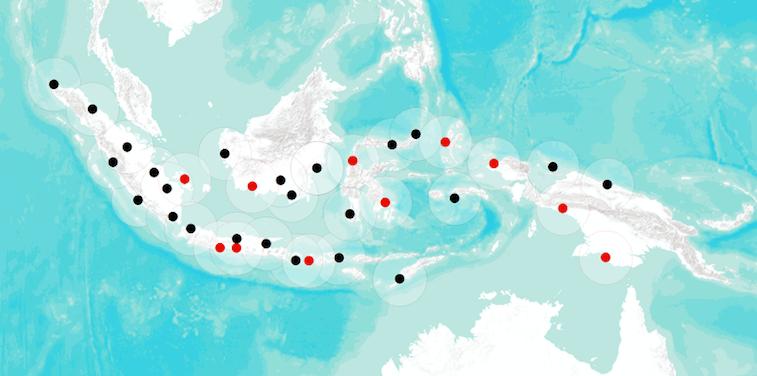 Integration of Indonesian Radars