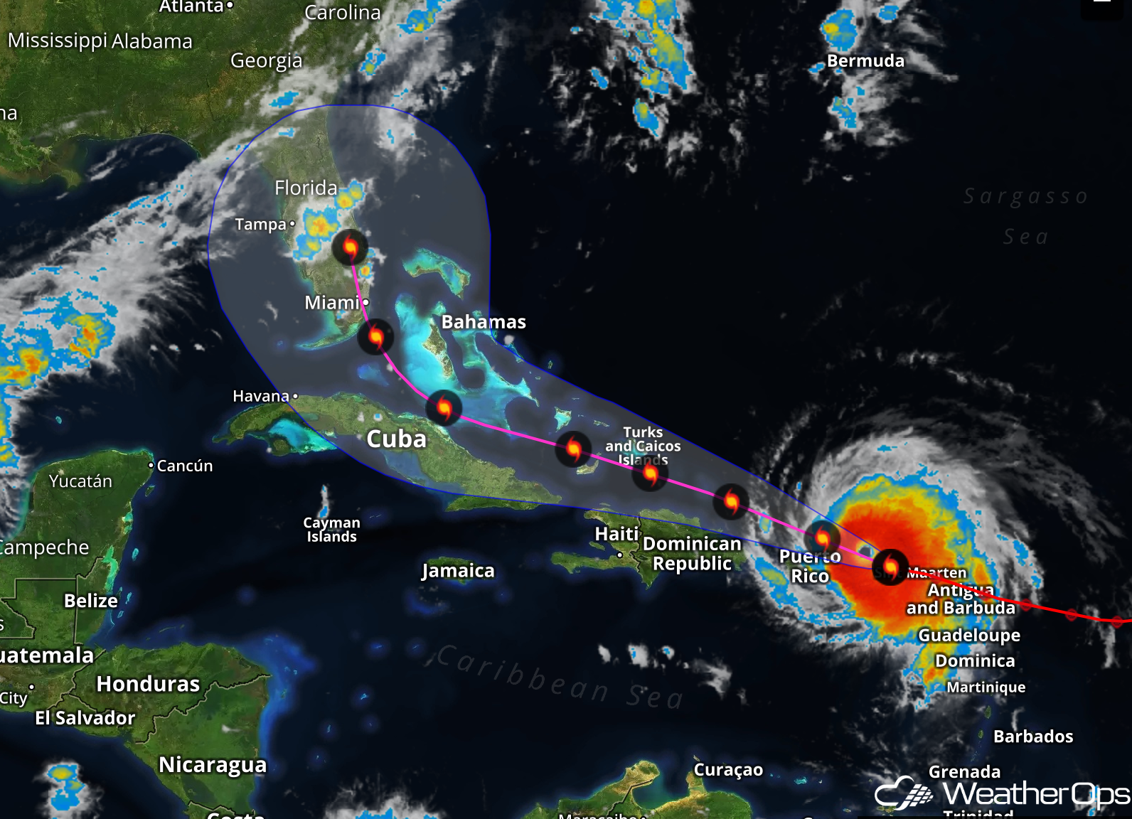 Hurricane Irma Causes Schedule Changes For Multiple Sporting Events