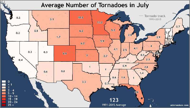 Thinking About the Heat? Don't Forget About Tornadoes!