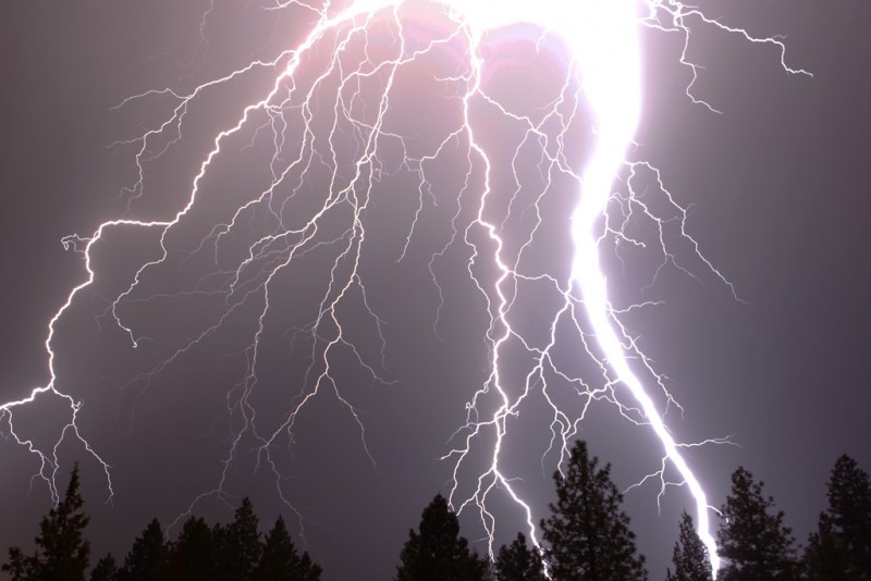 The Destructive Power of Lightning