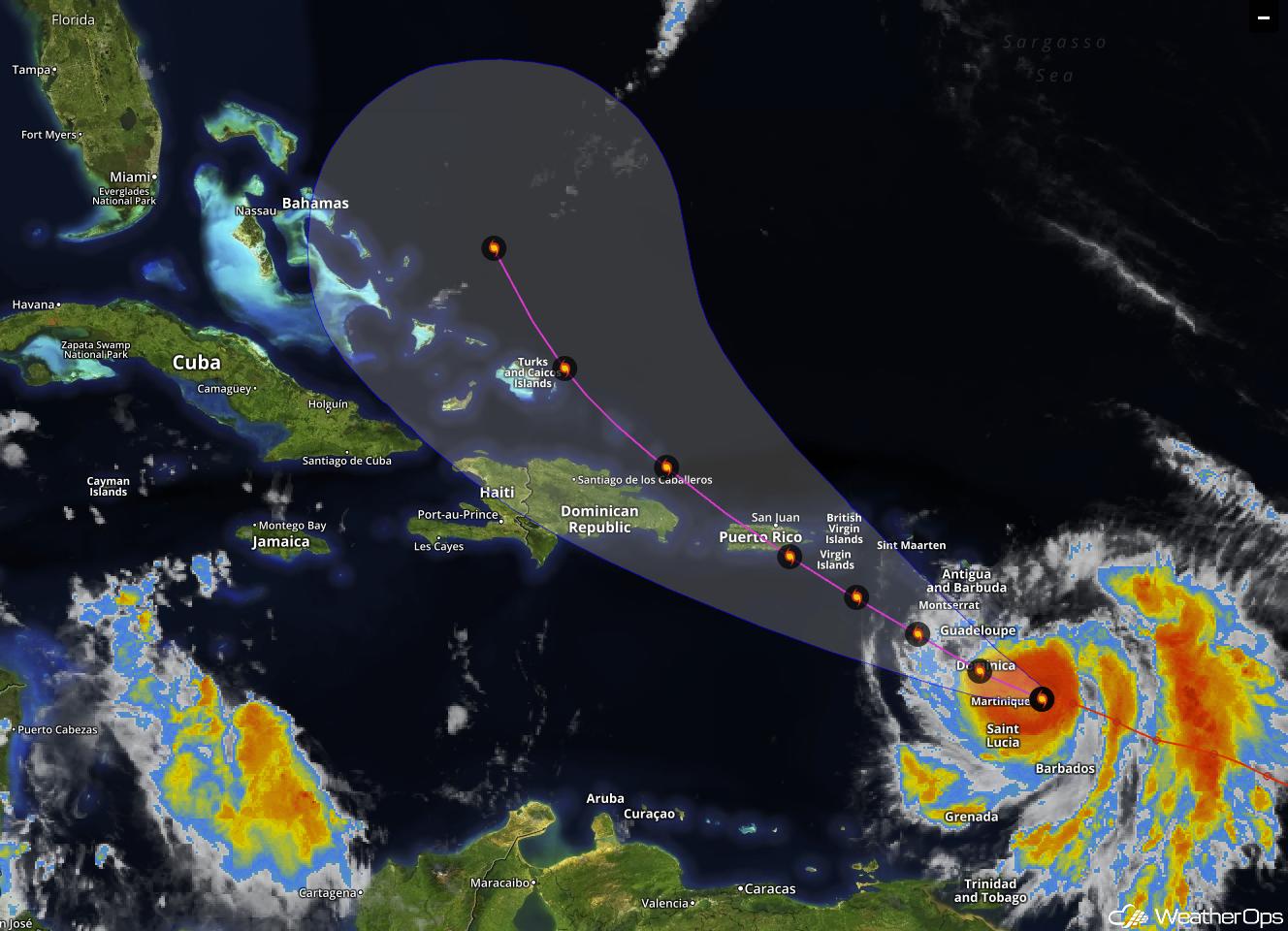 Will Hurricane Maria Follow Irma's Path?