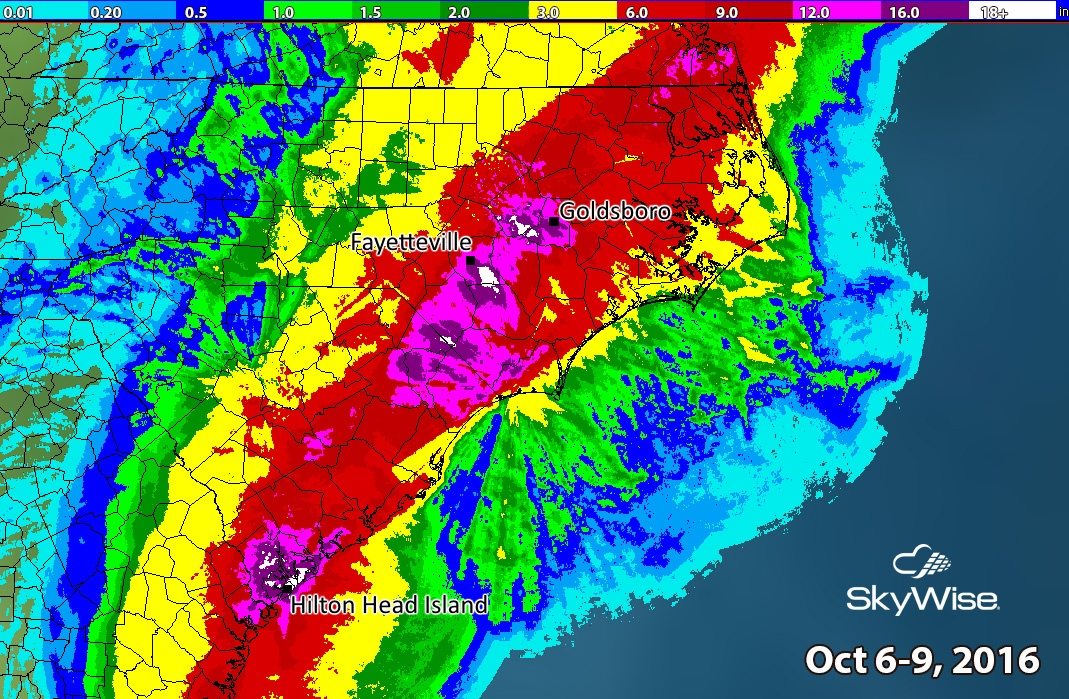 Catastrophic Flooding Continues in Matthews Wake