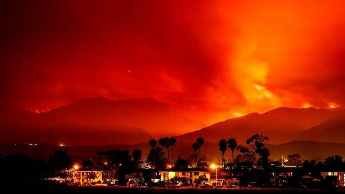 The Diablo Winds of California