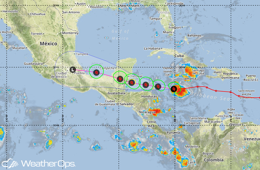 WeatherOps Tracks Tropical Storm Earl