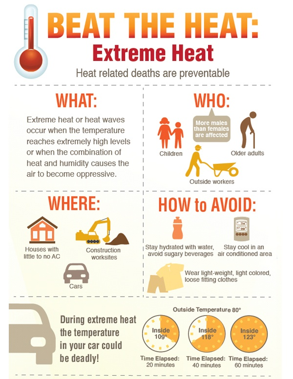 Do You Know How to Deal with Heat Waves?