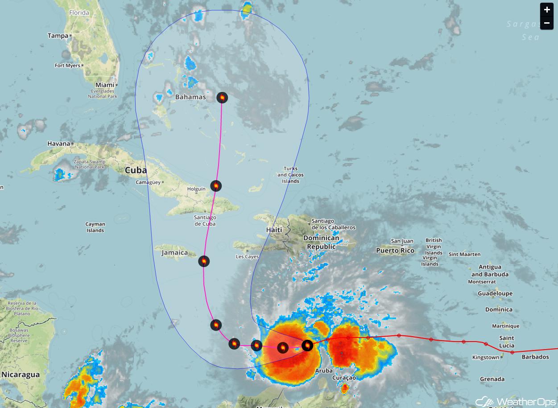 The Formation of Hurricane Matthew
