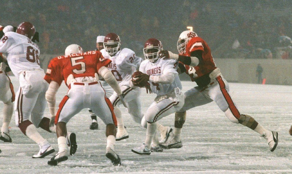 Will Saturday Be Another Ice Bowl, except this time in Norman?