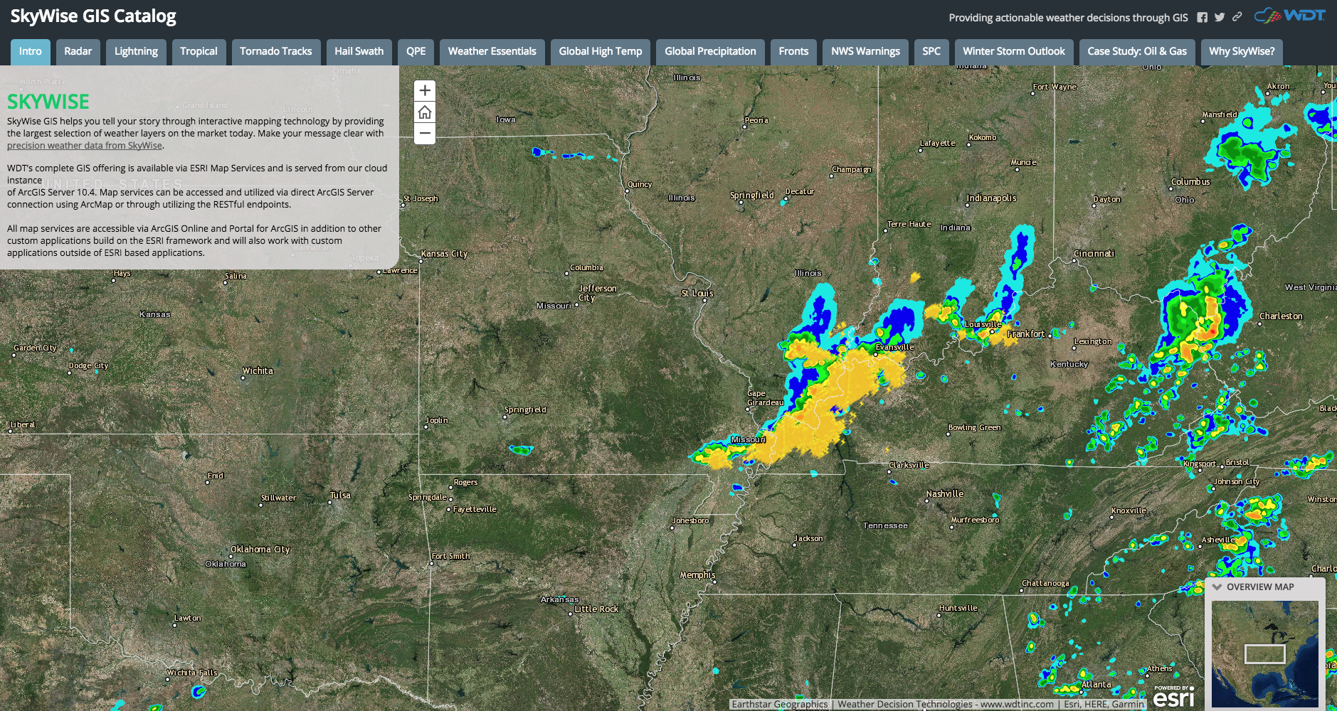 GIS Day: SkyWise Weather Data