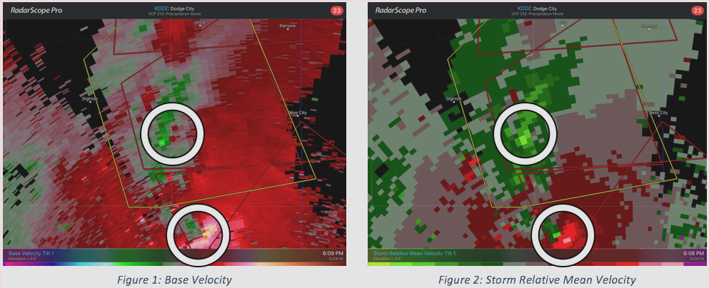 What is Storm Relative Velocity?