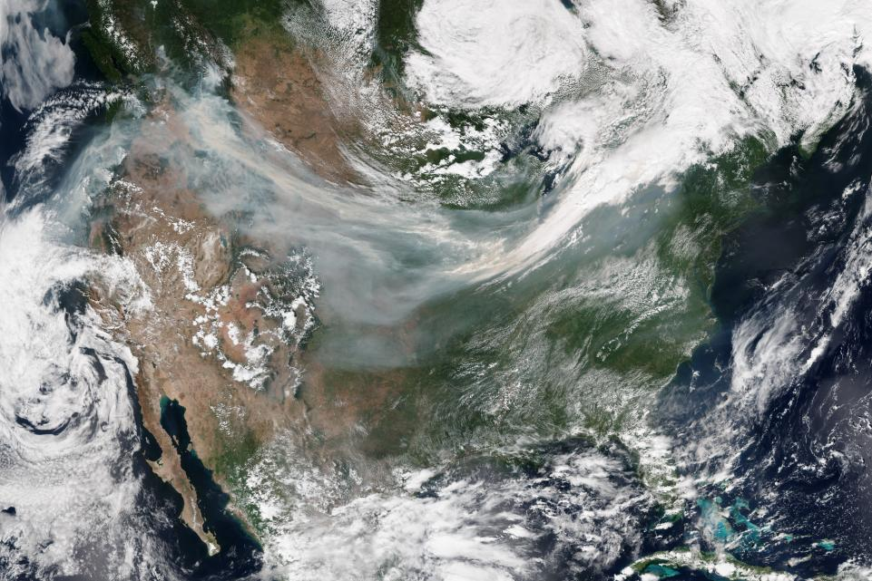 Fire and Water: West Burns While East Waits for a Hurricane