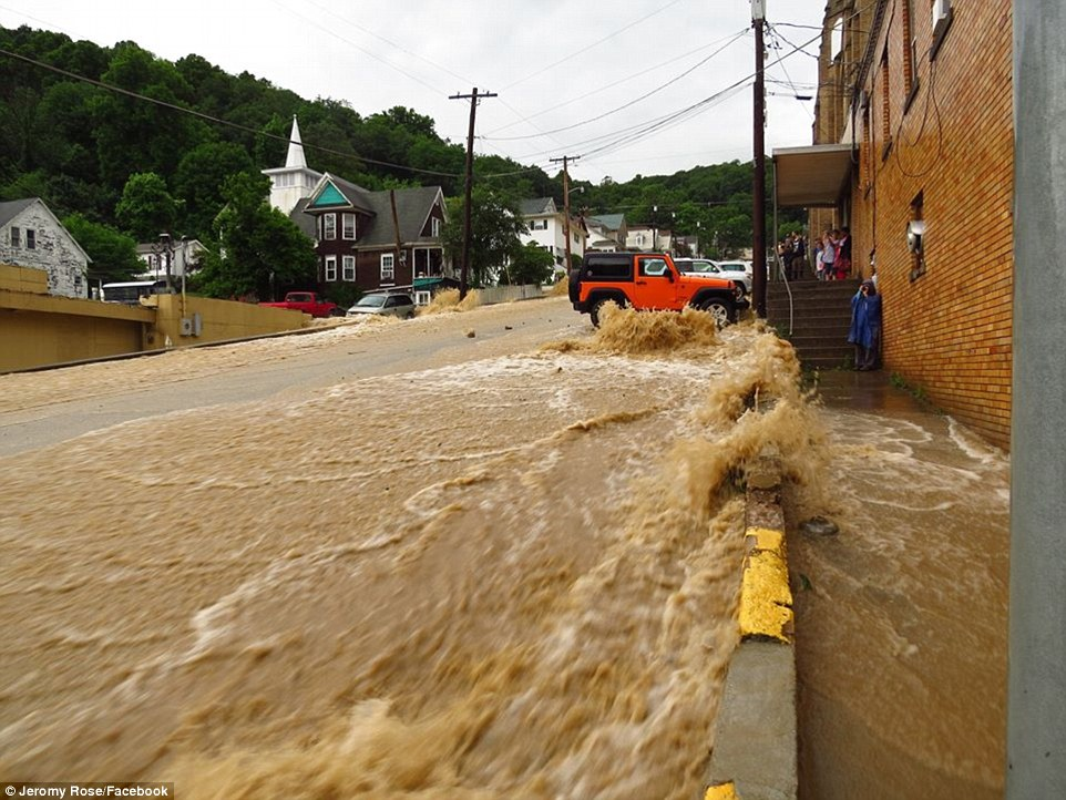Flooding Leads to State of Emergency in West Virginia