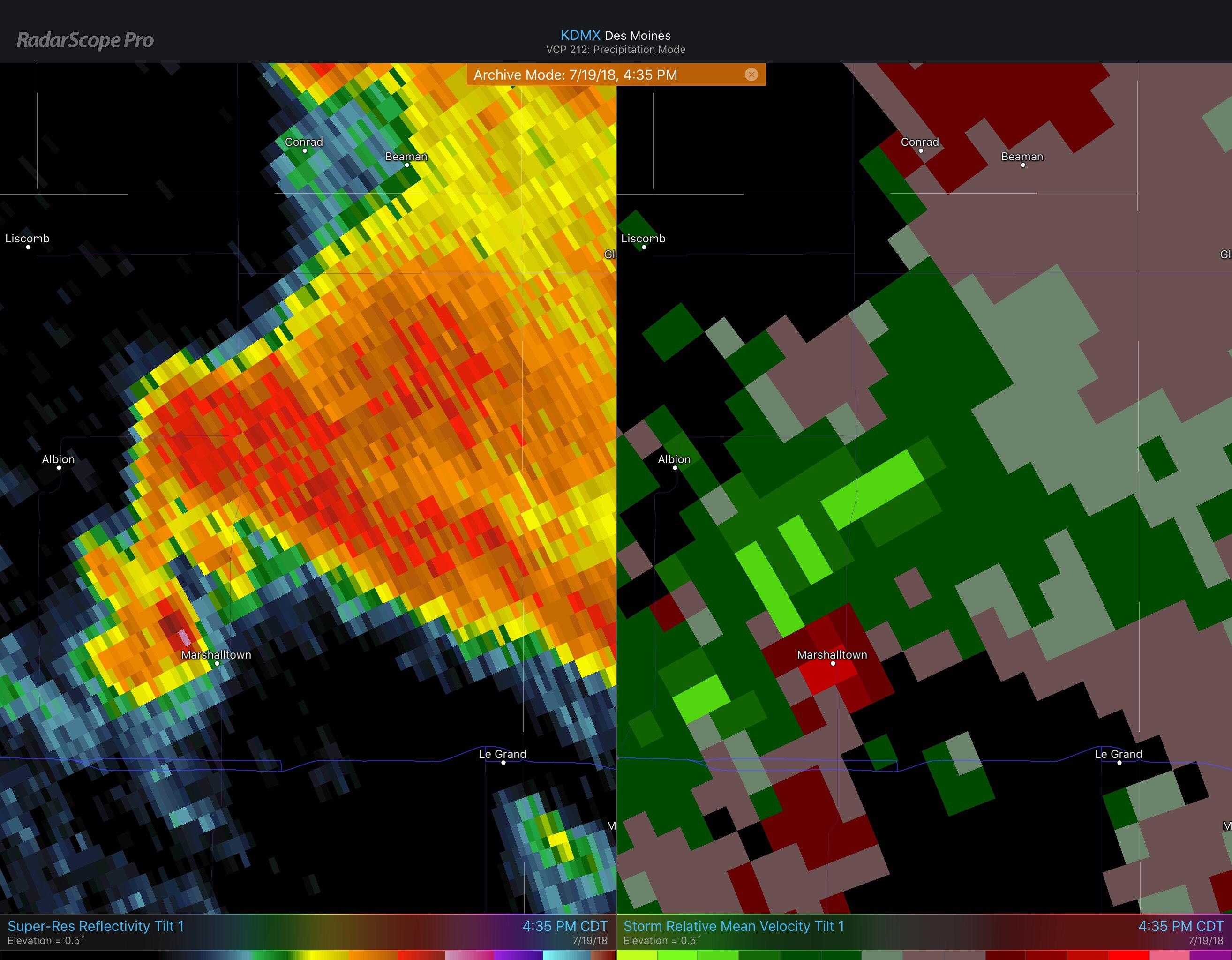 RadarScope: Do You Know What Tornado Debris Signatures Look Like?