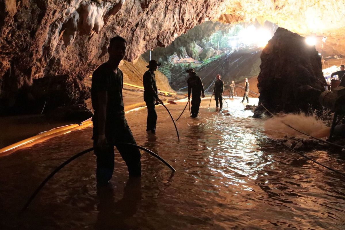 WeatherOps Rainfall Forecasts Are Critical to Thailand Cave Rescue Efforts