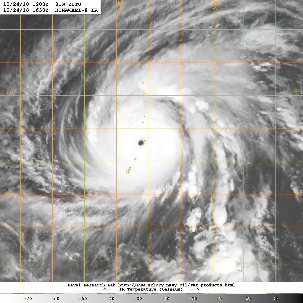 Super Typhoon Takes Aim on American Territories